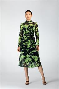 Juffrouw Jansen jurk tasni-s20 in het Lime