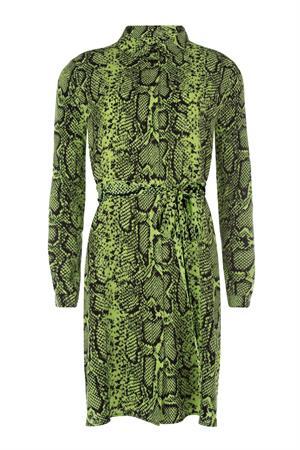 Juffrouw Jansen jurk terri-s20 in het Lime