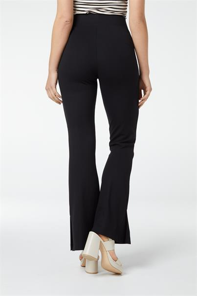 Juffrouw Jansen pantalons lecia in het Zwart