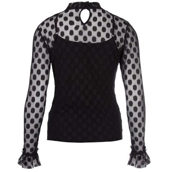 Juffrouw Jansen t-shirt anja-w18 in het Zwart