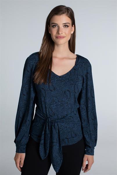 Juffrouw Jansen t-shirts avail in het Nacht Blauw