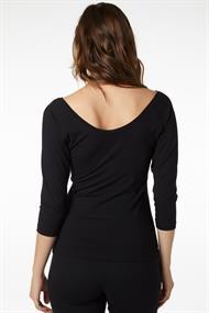 Juffrouw Jansen t-shirts lindy in het Zwart