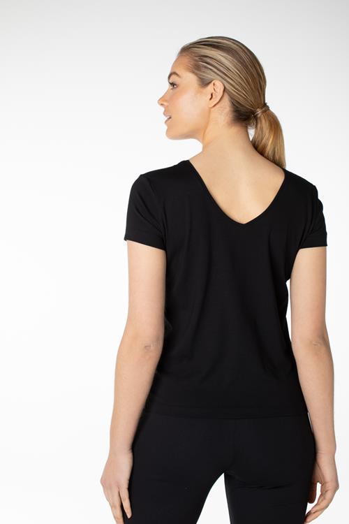 Juffrouw Jansen t-shirts omny in het Zwart