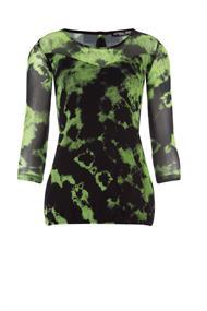 Juffrouw Jansen t-shirts tamar-s20 in het Lime