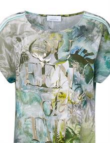 Just White t-shirts 43832 in het Kaky