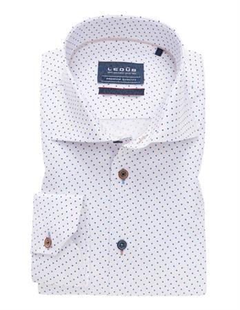 Ledub business overhemd 0138585 in het Blauw