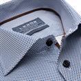 Ledub business overhemd 0139133 in het Donker Blauw