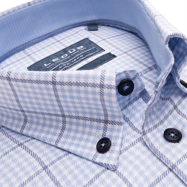 Ledub business overhemd 0139203 in het Licht Blauw