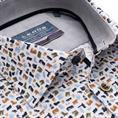 Ledub business overhemd 0139315 in het Groen