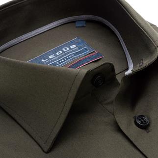 Ledub business overhemd 0139361 in het Groen
