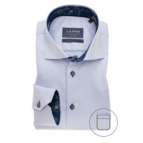 Ledub business overhemd 0139391 in het Licht Blauw