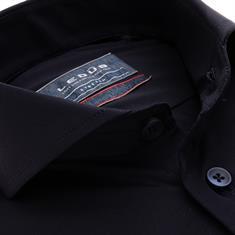 Ledub business overhemd 0139538 in het Donker Blauw