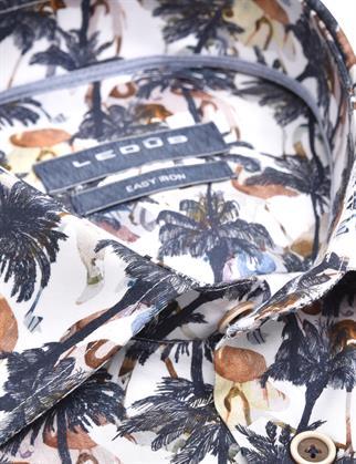 Ledub business overhemd 0139929 in het Licht Blauw