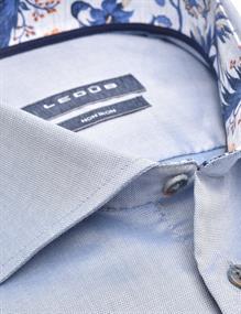 Ledub business overhemd 0140206 in het Blauw