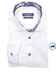 Ledub business overhemd 0140206 in het Wit