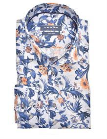 Ledub business overhemd 0140216 in het Blauw