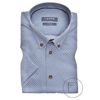Ledub business overhemd 0140355 in het Blauw