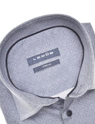 Ledub business overhemd 0140545 in het Donker Blauw