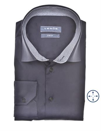 Ledub business overhemd 0140551 in het Wit/Blauw