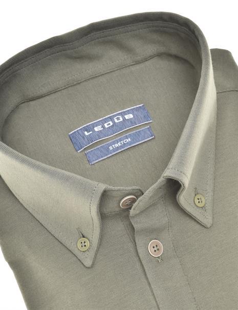 Ledub business overhemd 0140585 in het Groen