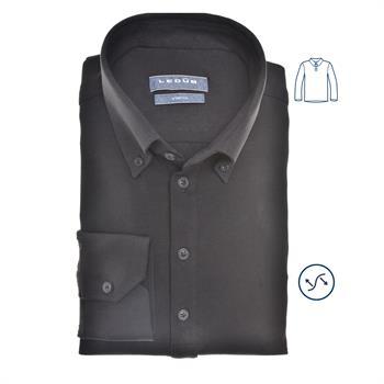 Ledub business overhemd 0140585 in het Zwart