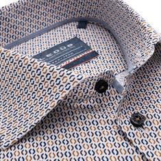 Ledub business overhemd Modern Fit 0139163 in het Bruin