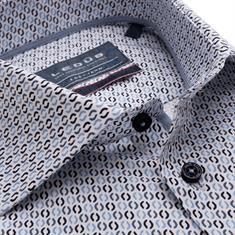 Ledub business overhemd Modern Fit 0139163 in het Licht Blauw