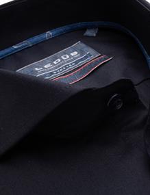 Ledub business overhemd Modern Fit 0139191 in het Donker Blauw