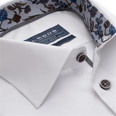 Ledub business overhemd Modern Fit 0139331 in het Wit