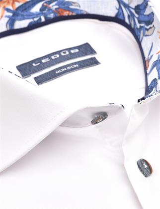 Ledub business overhemd Modern Fit 0140206 in het Wit