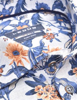 Ledub business overhemd Modern Fit 0140216 in het Blauw