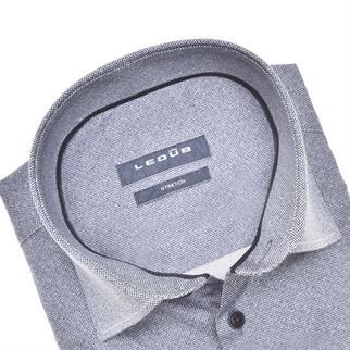 Ledub business overhemd Modern Fit 0140544 in het Donker Blauw