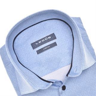 Ledub business overhemd Modern Fit 0140544 in het Licht Blauw