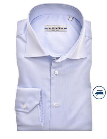 Ledub business overhemd Modern Fit 0323518 in het Licht Blauw