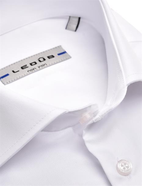 Ledub business overhemd Modern Fit 0323588 in het Wit