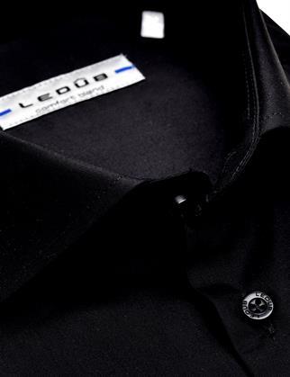 Ledub business overhemd Modern Fit 0323702 in het Zwart