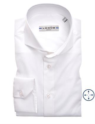 Ledub business overhemd Modern Fit 0326510 in het Wit