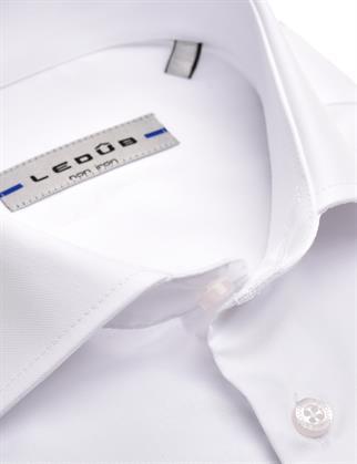 Ledub business overhemd Slim Fit 0343518 in het Wit