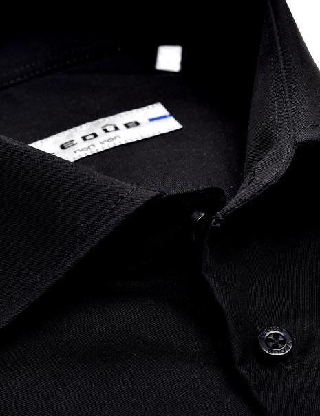 Ledub business overhemd Slim Fit 0343518 in het Zwart