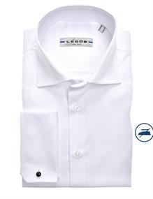 Ledub business overhemd Slim Fit 0343588 in het Wit