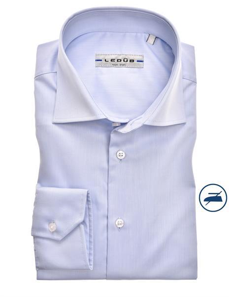 Ledub business overhemd Slim Fit 0343718 in het Licht Blauw