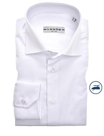 Ledub business overhemd Slim Fit 0343718 in het Wit