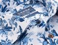 Ledub business overhemd Tailored Fit 0138605 in het Blauw