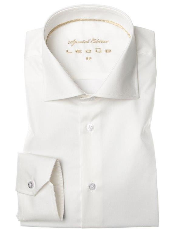 Ledub overhemd 0043568 in het Ecru