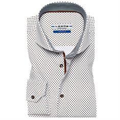 Ledub overhemd 0136384 in het Bruin