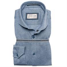 Ledub overhemd 0136658 in het Blauw