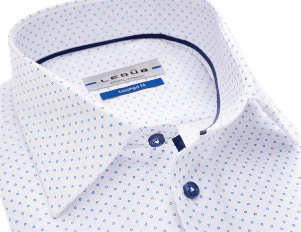 Ledub overhemd 0137121 in het Geen kleur