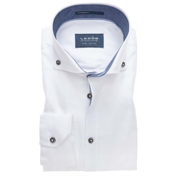 Ledub overhemd 0137461 in het Geen kleur
