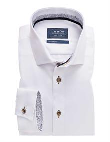 Ledub overhemd 0137782 in het Wit