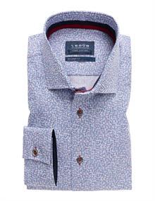 Ledub overhemd 0137790 in het Rood
